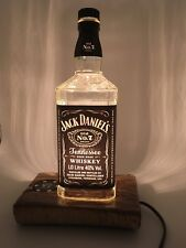 Jack Daniels 70cl Whisky Bottle Rustic Table Lamp Fathers Day Dimmer Switch