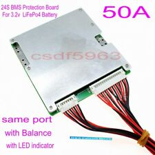 72V 50A/150A BMS PCM for 24S String LiFePO4 LimPO4 Battery Pack with Balance