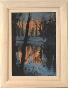 "Original Lisa Ballard Oil On Canvas ""Orange River"""