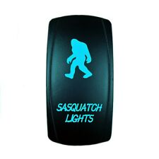 Blue Dual Led On/Off Rocker Switch Sasquatch 12V Auto Powersports 4 Wheeler