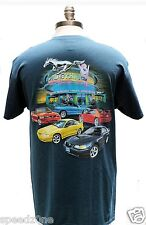 FORD MUSTANG SN95 STYLE SHIRT IN BLUE GREEN COLOR