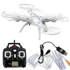 Syma X5C 2.4Ghz 4CH 6-Axis Gyro RC Quadcopter Drone RTF UAV UFO Airplane White