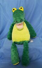 "Nile the Crocodile Scentsy Buddy Alligator Green 15"" Plush Stuffed Animal Lovey"