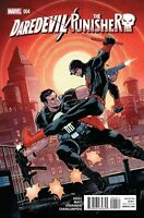 Daredevil The Punisher #4 Marvel Comic 1st Print 2016 NM ships in t-folder