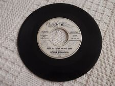 ROBBIE ROBINSON  JUST A LITTLE MORE TIME/CLOSE TO YOU FLAIR 104 PROMO