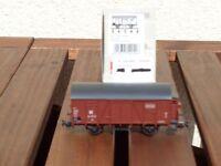 Piko 54049 Gedeckter Güterwagen Gr 04 mit Bremserhaus DR Ep.3 Top in OVP
