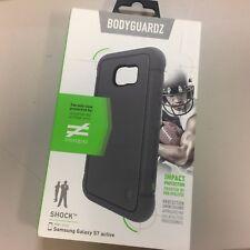 NEW Authentic Shock BodyGuardz Samsung Galaxy S7 Active Case Cover Black Gray