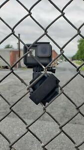 Universal GoPro Hero Chain Link Fence Mount 3D Printed iPhone NO Fence in Video