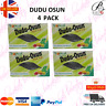 4 x Dudu Osun African Black Soap 150g for eczema, Acne, fungus (4 PACK)