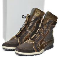 DOLCE & GABBANA D&G Sneaker Schuhe Stiefel Boots LEDER UVP:540€ ORIGINAL