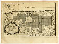 Antique Print-BUENOS AIRES-ARGENTINA-Bellin-Schwabe-1758