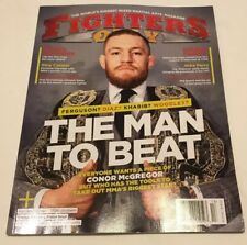 Fighters only magazine Connor MacGregor cover holiday 2017 The Man To Beat