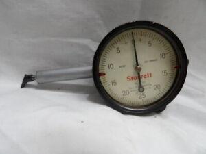 Starrett No. 25-131 Dial Indicator .125 Range
