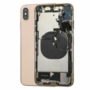 Back Housing Rear Glass Battery Cover Frame Assembly For iPhone XS Max USA Stock