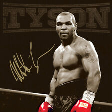 Mike Tyson Boxing Sport Art Fabric Poster HD Print Home Wall Decor Multi Sizes