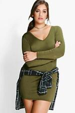 Boohoo Stretch, Bodycon Plus Size Dresses for Women