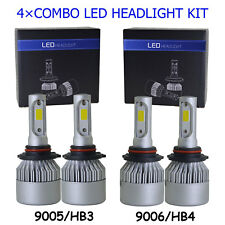 9005 9006 Combo LED Headlight Bulbs Kit for Honda Civic 2004-2013 High Low Beam