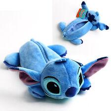 BNWT SO Cute Stitch Pencil Case Pen Bag Pouch Stationery Organizer Lilo&Stitch