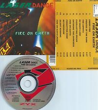 LASERDANCE-FIRE ON EARTH-1994-GERMANY-ZYX MUSIC ZYX 20276-2-CD-MINT-