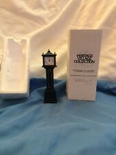 Lot Of 2 Department 56 Town Clock And Send In The Clown