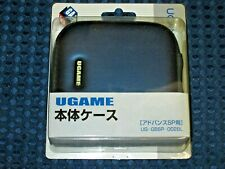 Game Boy Advance SP GBASP Console System Semi Hard Type Case Single Zipper JAPAN