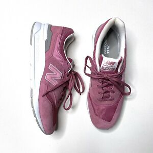 NEW New Balance 997H Mineral Rose Pink Walking Shoes Leather CM997HMA Mens 9