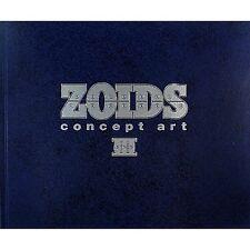 Zoids Concept Art #3 Illustration Art Book