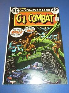 GI Combat #167 Bronze age Haunted Tank FVF Beauty Wow War