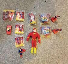 Superman Figures New & Used1997 Burger King Toy DC Comics + Flash Plush
