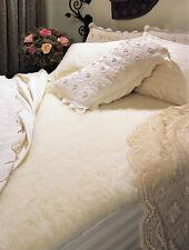 "Wool Mattress Cover - Queen size - Wash/Dry 1.5"" Pile - Elite - IRREG."