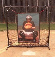"""BP Catcher""- Baseball Softball Pitching Target Pitcher's Training Aid w/Frame"