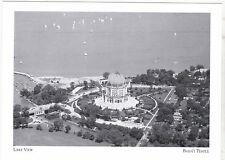 "+PC-Postcard-""Aerial Shot/Lake-View Scenery"" -1960's- @ Baha'i Temple (#12)"