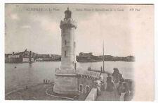 Lighthouse Le Phare Marseille France 1905c postcard