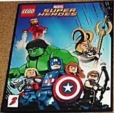 MARVEL SUPERHEROES COMIC 3 RARE LEGO GIVEAWAY PROMO AVENGERS IRON MAN HULK THOR