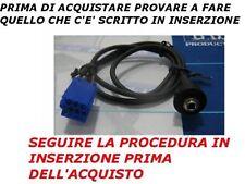 AUX SOLO AUDIO IPHONE GALAXY S2 S3 Mp3 per Alfa 147, 156 e GT radio 937 pannello