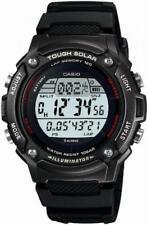 CASIO SPORTS GEAR Runners Watch Tough Solar Lap Split Time Memory W-S200H-1 BJF*