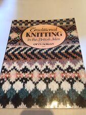 """Gywn Morgan tradizionale lavoro a maglia nelle Isole Britanniche non """"EX-BIBLIOTECA"""""""