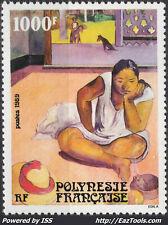 POLYNESIE OEUVRE DE PAUL GAUGIN N° 346 NEUF ** SANS CHARNIERE