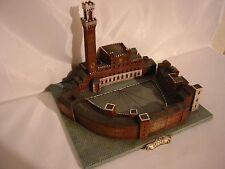 Palio,Piazza del Campo,Siena,Toskana,20 cm Modell Italien,Pferderennen,Neu