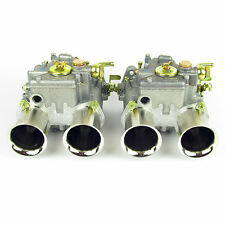PAIR of WEBER 45DCOE 152 TWIN CARBS – MK1/MK2 ESCORT/SIERRA/GOLF (3x Prog Holes)