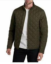 Barbour men's International Steve Mcqueen Quilted Jacket Dark Green size Large