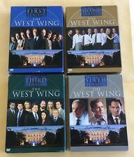 West Wing The Complete First Second Third & Sixth Seasons DVD Sets USED