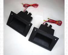 Plastic Speaker Handles and Dual Jacks Combination Pair 5.25 X 3.5 Inch Pair