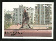 James Bond Autographs & Relics Skyfall Parallel GOLD Foil #10  Serial # 89/100