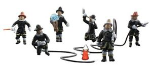 New Woodland Scenics Firefighters HO Scale Rescue (6) A1961