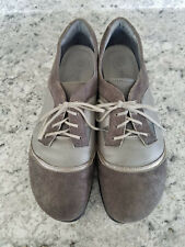 Naot Women's Gray Harore Leather Sneaker Shoes Flats Size 41 US 10