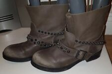 Ash Ankle Biker  Studded  Boots Size 36 Uk3