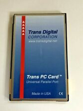 Pcmcia Parallel Port Pc Card, Trans Digital #Tdc303
