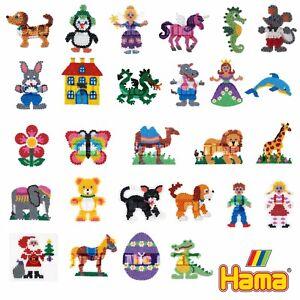 Hama Bead Peg Board Assorted Shapes & Figures Boys & Girls Craft Stocking Filler