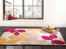 Polyester Floral Machine Made Rugs